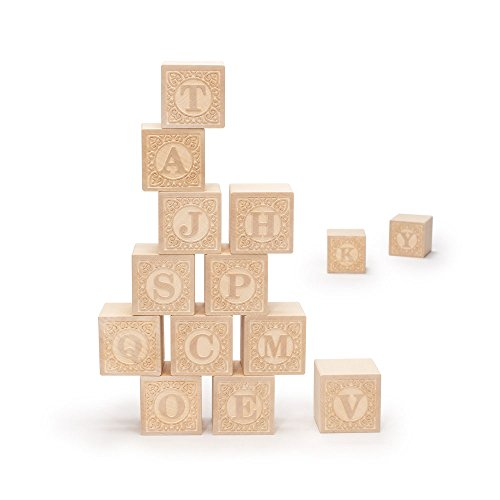 Uncle Goose Uppercase Alphablank Blocks...