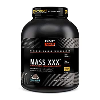 GNC AMP Mass XXX with MyoTor - Cookies and Cream