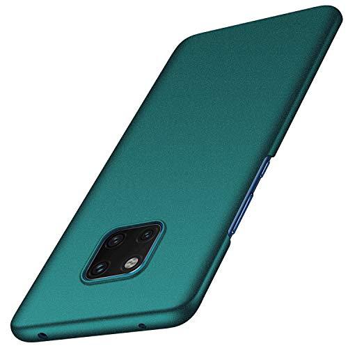 anccer Funda Huawei Mate 20 Pro [Serie Colorida] [Ultra-Delgado] [Ligera] Anti-rasguños Estuche para Carcasa Huawei Mate 20 Pro (Grava Verde)