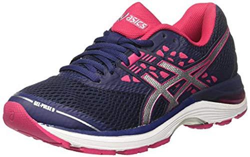 Asics Gel-Pulse 9, Zapatillas de Running Mujer, Rosa (Bright Rose/White/Black 2101), 37 EU