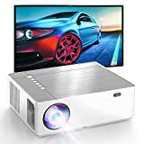 HD Projector, Native 1920 x1080p, 4K Supported, 6D ±50° X/Y Keystone and ±50% Zoom Out, Full HD Outdoor Movie Projector, Compatible for TV Stick, Android, HDMI, PCs, PS5 -  CostaKaiser
