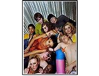 スキン-テレビシリーズシーズンショーウォールアートポスターキャンバス絵画リビングルーム家の装飾装飾-20x28インチフレームなし