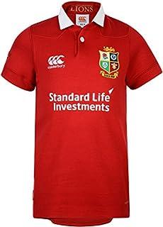 Canterbury British And Irish Lions Kids VapoDri Matchday Classic Short Sleeve Jersey