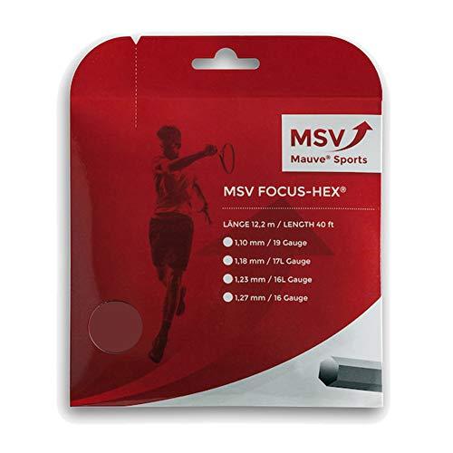 MSV Focus Hex 12m weiss Saitenset 1.18mm