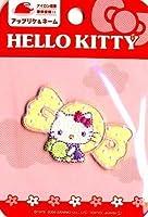 刺しゅう ワッペン (アップリケ) キティ