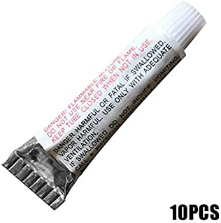 Portonss Inflatable Product Repair Glue,1/5/10pcs PVC Puncture Repair Patch Glue Adhesive for Inflatable Toy Swimming Pool...