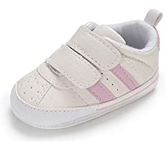 0-18 Months E-FAK Baby Boys Girls Shoes Non-Slip Rubber Sole Infant Toddler Sneakers Crib First Walker Shoes