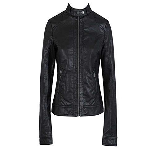 2018 Neue Frauen Mode Lederjacke europäische Mode Single pu Leder Motorrad Reinigung Leat weiblich