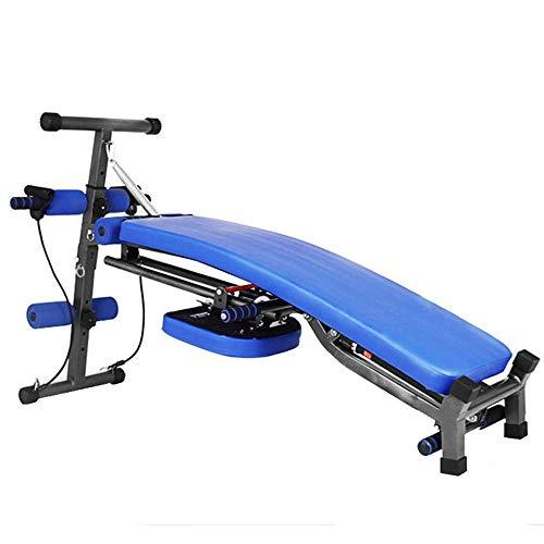 UIZSDIUZ Bench Press de banca, Plegable Ajustable con Mancuernas heces Abdominales Inicio aparatos de Gimnasia Multifuncional for sillas de Fitness