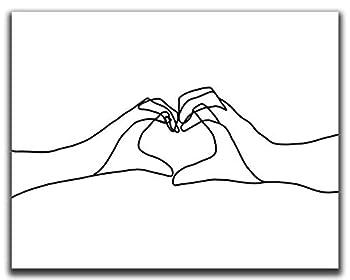 Best heart hands drawing Reviews