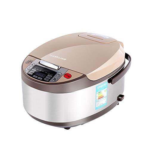 Reiskocher, Intelligent Reiskocher 5L Liter Großräumige Familienkochtopf 5-8 Personen