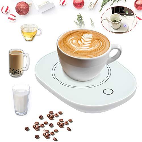 USB Coffee Mug Warmers for Desk with Auto Shut Off,USB Coffee Cup Warmer for Desk Office Home…