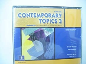 Contemporary Topics 3: Academic Listening and Note-Taking Skills, 2nd Edition