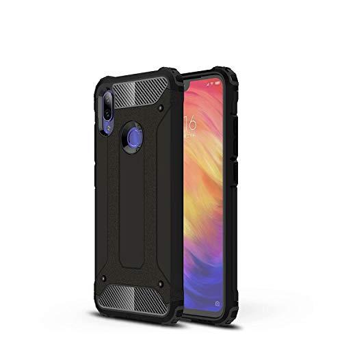 TenYll Cover per Huawei Nova 7 PRO, Protezione Durevole, Custodia Robusto TPU + PC Ibrido Doppio Strato Protective Case, Case Custodia per Huawei Nova 7 PRO (Nero)