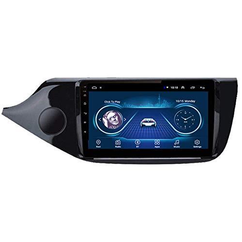 Navigazione GPS per autoradio Android 9.1 per Kia CEED 2013-2015. Schermo touch da 9 pollici Supporto per lettore multimediale per auto Specchio, ausiliario (colore: quad-core, dimensioni: WIFI 1 + 1