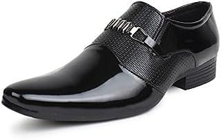 BUWCH Men's Formal Black Shoes