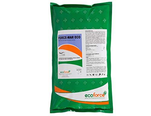 CULTIVERS Force-Mar Eco 1 Kg. Abono Orgánico Ecológico 100% Algas Marinas Polvo Soluble. Extracto de Algas 100%. Fertilizante Bioactivador a Base de extractos de Ascophyllum nodosum, Verde