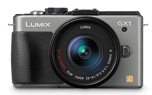 Panasonic Lumix DMC-GX1 16 MP Micro 4/3 Mirrorless Digital Camera with 3-Inch LCD Touch Screen and 14-42mm Zoom Lens (Silver) (Renewed)