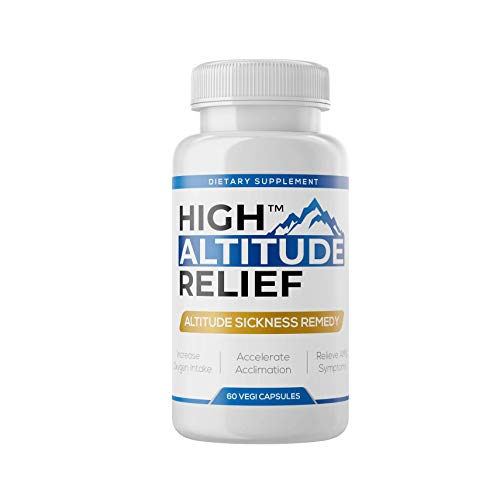 High Altitude Relief - Colorado's #1 Product for Altitude Sickness, Arrives in 2-3 Days