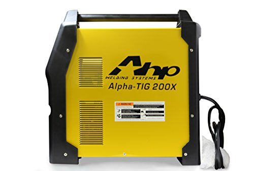 2018 AHP AlphaTIG 200X 200 Amp IGBT AC DC Tig/Stick Welder with PULSE 110v 220v 3 YEARS WARRANTY