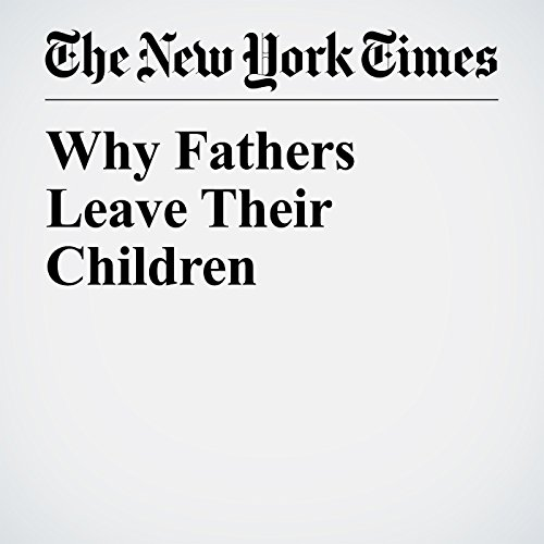 Why Fathers Leave Their Children copertina