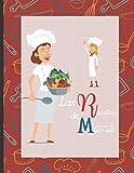Las recetas de Mamá: Libro de cocina en blanco para rellenar con tus platos favoritos - 100 recetas