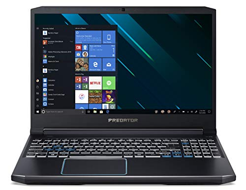 "Acer Predator Helios 300 PH315-52-70M5 Notebook Gaming con Processore Intel Core i7-9750H, RAM da 16GB DDR4, 512GB SSD, Display 15.6"" FHD IPS LED LCD 144Hz, NVIDIA GeForce GTX 1660Ti, Windows 10 Home"