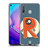 Head Case Designs One-Eyed R Alphabet Monster Soft Gel Case