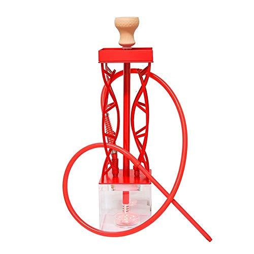 FLY FLU Wasserpfeife Shisha, 82cm Mehrfarben-LED-Lichtpfeife, Die Russische Wasserpfeife Set Rauchgefäß Wasserpfeifenzubehör,A