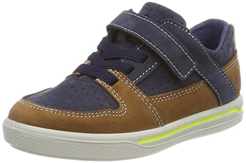RICOSTA Jungen TED Sneaker, Blau (Nautic/Curry), 31 EU
