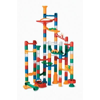 MindWare Marble Run: 123 Piece Set (103 Durable Pieces and 20 Marbles) Exclusively at