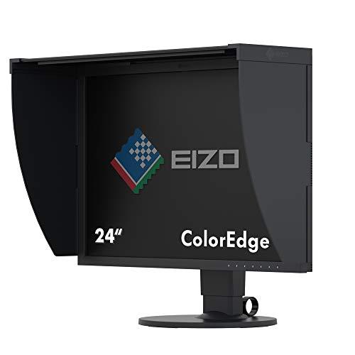 EIZO ColorEdge CG2420 61,1 cm (24,1 Zoll) Grafik Monitor (DVI-D, HDMI, USB 3.1 Hub, DisplayPort, 10 ms Reaktionszeit, Auflösung 1920 x 1200, Wide Gamut) schwarz