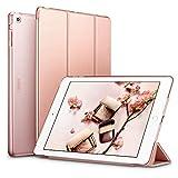 ESR - Carcasa para iPad Air 1 (iPad 5) 2017 (oro rosa), funda de protección con soporte integrado, multiángulo y reposo automático