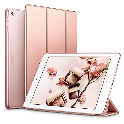 ESR Coque pour iPad Air 1 (iPad 5) 2017 (Or Rose), Smart Cover Case, Housse Étui de Protection avec Support Intégré Multi-Angle et Mise en Veille Automatique