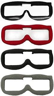 Soft Goggles Foam Pads PU Pads Fatshark FPV Goggles Headset Video Gafas FPV Glasses Replace Faceplate Fr Fatshark HDO HD3 HD2 V3 - (Color: 3PC Fabric Foam Pads)