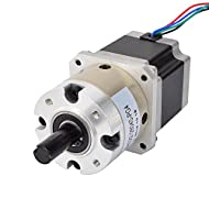 STEPPERONLINE 4:1 Planetary Gearbox Nema 23 Stepper Motor 2.8A for DIY CNC Mill Lathe Router