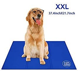 Bravpet Cooling Mat,Pet Self cooling pad, Comfort for Cats and Dogs
