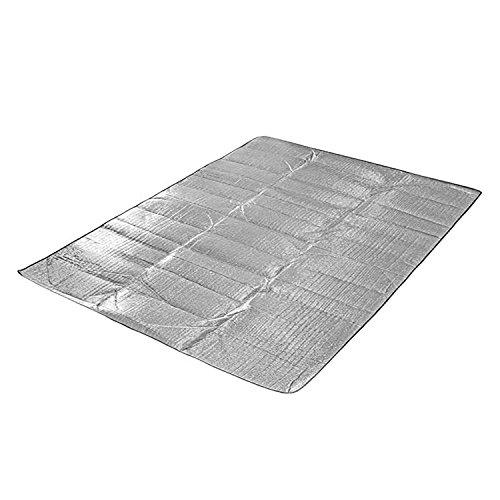 ecosway Aluminium Folie Schaumstoff Outdoor Picknick Strand, Outdoor Camping Wandern Travel Wasserdichtes Decke Matratze Matte Pad, ultraleichtem, Feuchtraum