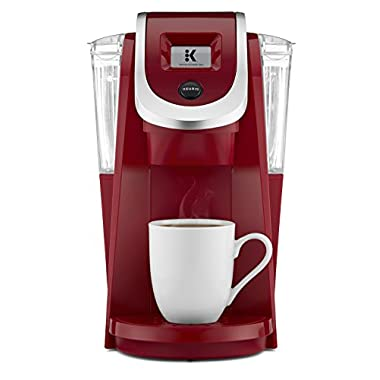 Keurig K250 Single Serve, K-Cup Pod Coffee Maker with Strength Control, Imperial Red