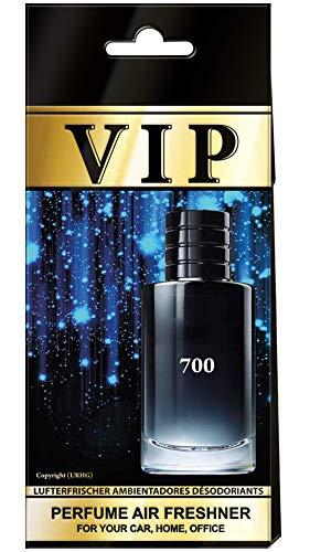 VIP 5 x gemischte Parfüm-Lufterfrischer für Auto, Zuhause und Büro + 1 gratis Auto-Lufterfrischer