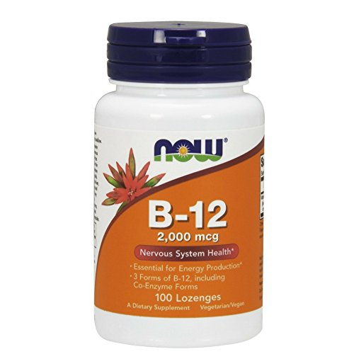 NOW Supplements, B-12 2,000 mcg, Energy Production*, Nervous System...