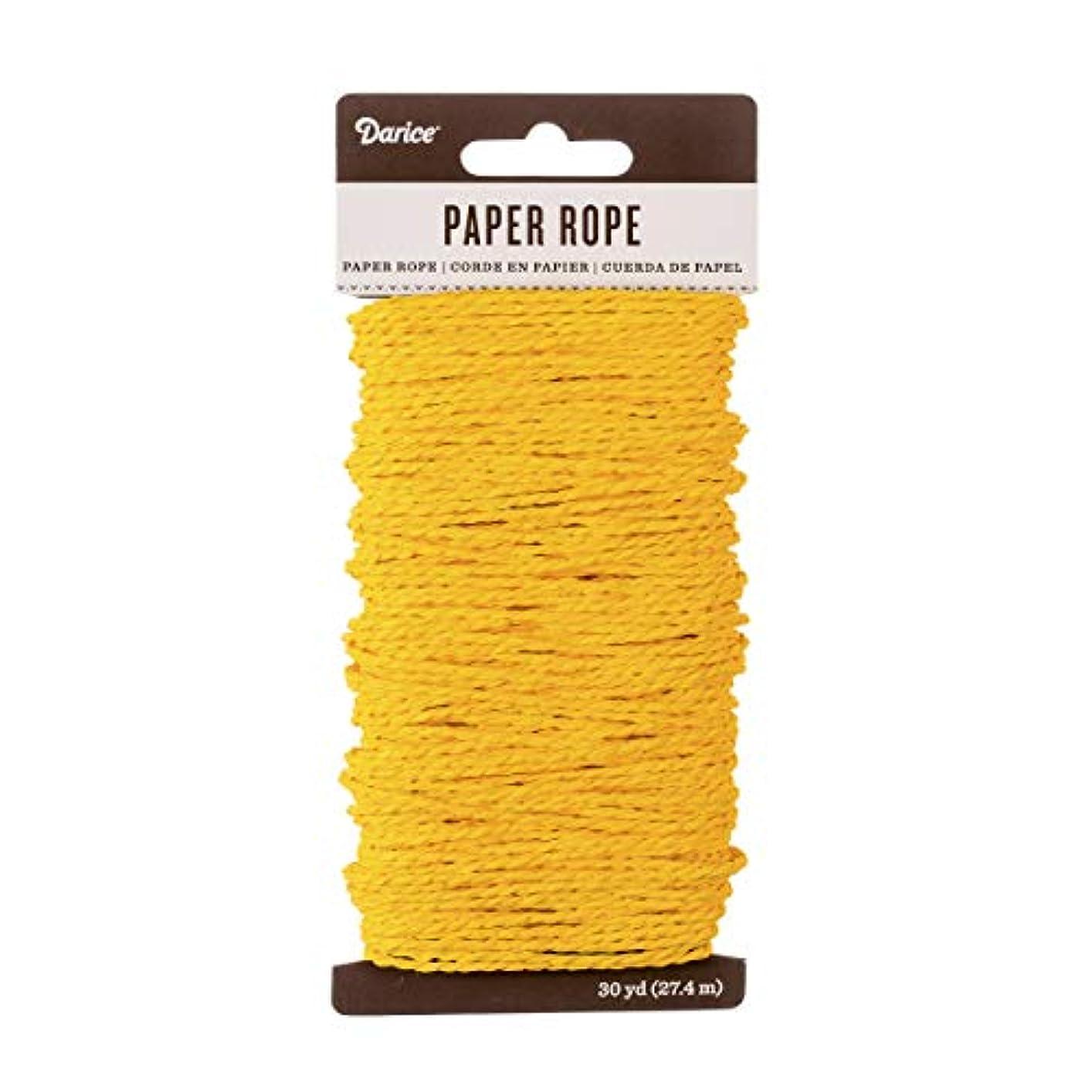 Darice Yellow Paper Rope