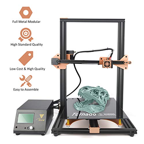 TEVO Tornado 3D Printer Aluminum DIY 3D Models, Large Printing Size 300x300x400mm