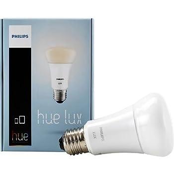 Philips Hue 433714 4PKAMBNCECLR KIT LUX LED Smart Light Bulb, Dimmable, Works with Amazon Alexa