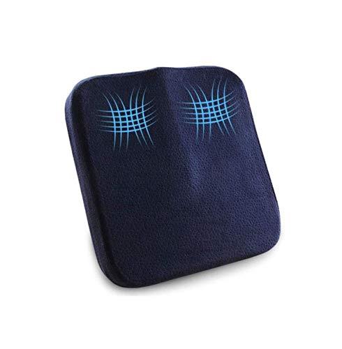ZOUSHUAIDEDIAN Cojines Asiento ergonómico, el 100% de Espuma de Memoria Almohadas for el Coche, y sillones de Oficina Inicio, Alivia el coxis, ciática, Dolor Lumbar, y Mejora la Postura, Azul