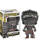 ODEUXS POP Juego Peripheral Dark Souls 3 Bloodborne Cursed Red Knight Muñeca Decoración Juguete 10cm (3.93 pulgadas)