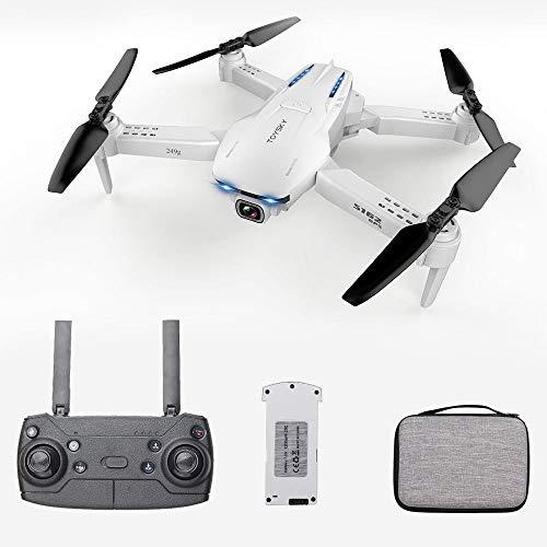 Goolsky- S162 RC Drone con Cámara GPS Ajustable Gran Angular 4K 5G WiFi Foto de Gesto Vídeo MV FPV RC Quadcopter Sígueme Drone para Adultos 1 Batería