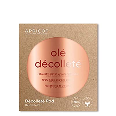BESTSELLER in Germany! Anti-Wrinkle Décolleté Pad to eliminate and prevent chest wrinkles!