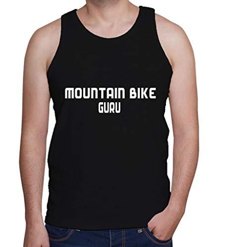 Custom Brother - Mountain Bike GURU Sports Exercise Male Men's Tank Top Shirt Gra534 Black