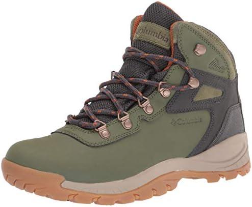 Columbia Women s Newton Ridge Plus Hiking Shoe Hiker Green Caramel 6 5 Wide product image